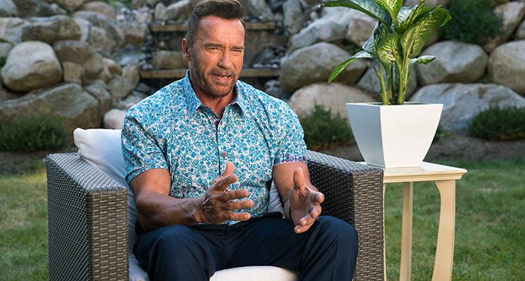 Arnold Schwarzenegger w filmie \