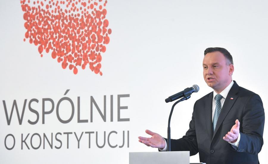 Andrzej Duda o referendum