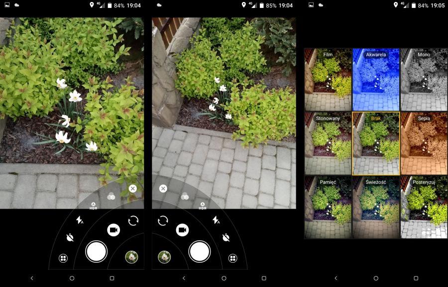 Alcatel 5 - aplikacja aparatu
