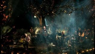 Biffy Clyro podczas koncertu MTV Unplugged
