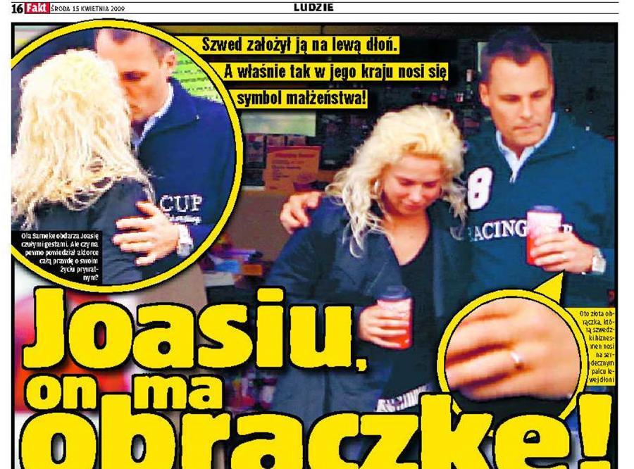Liszowska ma żonatego faceta?
