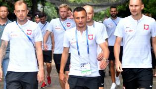 Kamil Grosicki, Kamil Glik, Sławomir Peszko, Michał Pazdan, Bartosz Białkowski i Artur Jędrzejczyk