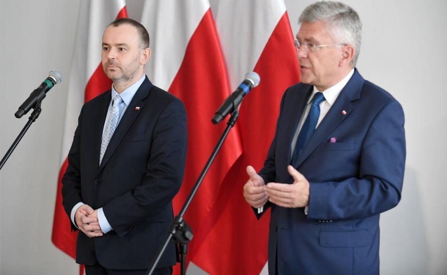 Paweł Mucha i Stanisław Karczewski