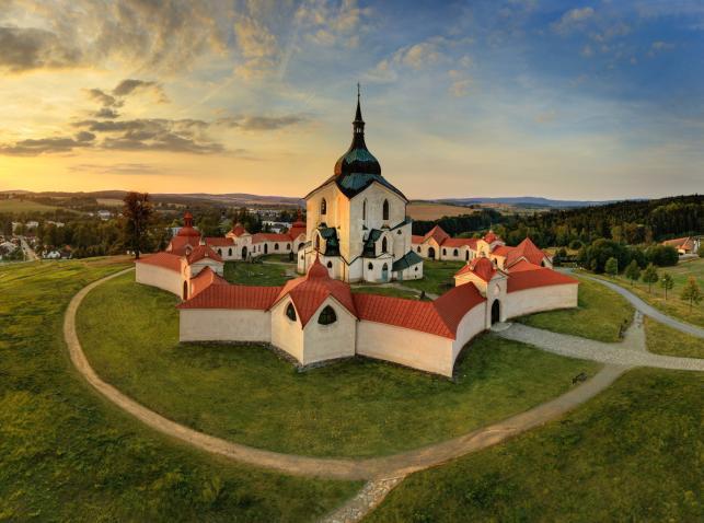 Žďár nad Sazavou, kościół św. Jana Nepomucena. Fot. Libor Sváček