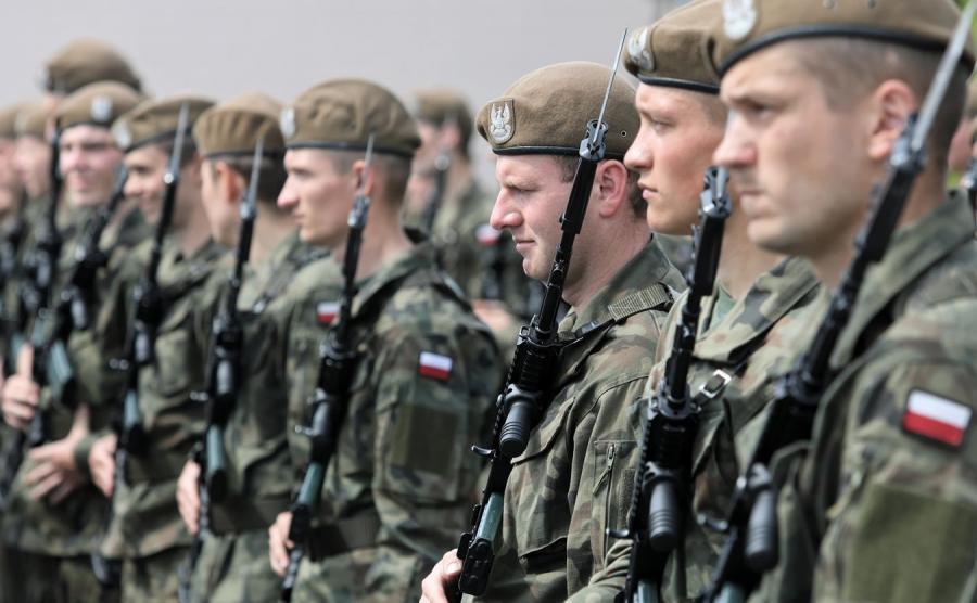 Uroczysta przysięga żołnierzy 1. Podlaskiej Brygady Obrony Terytorialnej