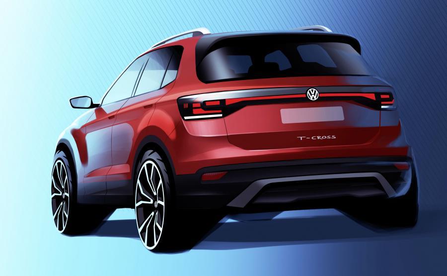 Volkswagen T-Cross - SUV z genami nowego Polo