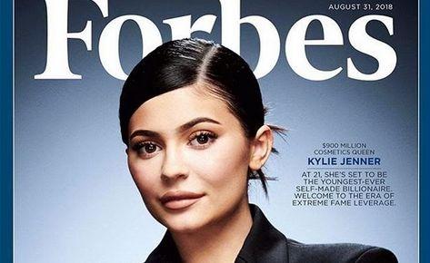 Kylie Jenner na okładce magazynu \