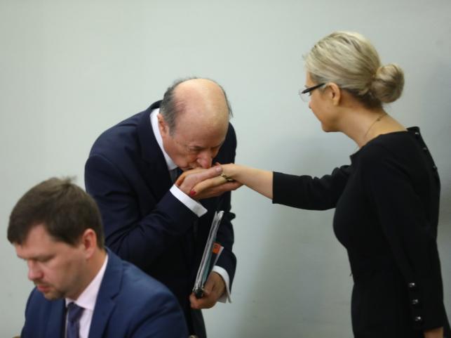 Jan Rostowski i Małgorzata Wasserman