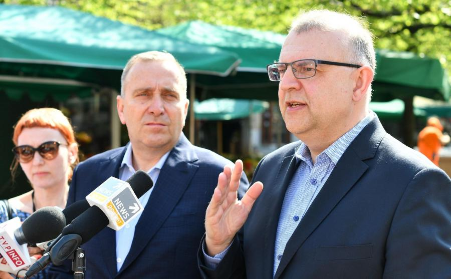 Kazimierz Michał Ujazdowski i Grzegorz Schetyna