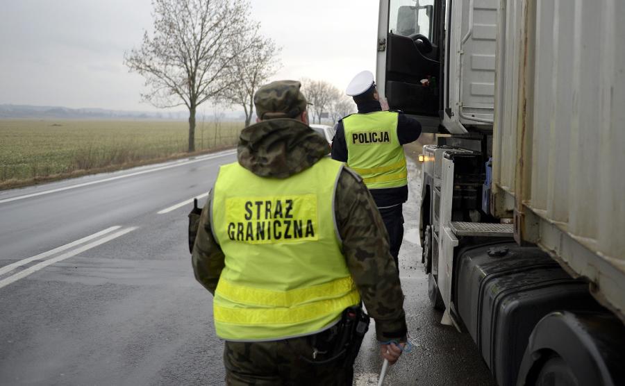 Straż Graniczna i policja