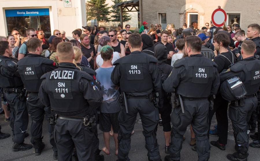 Niemcy, festiwal Tarcza i miecz