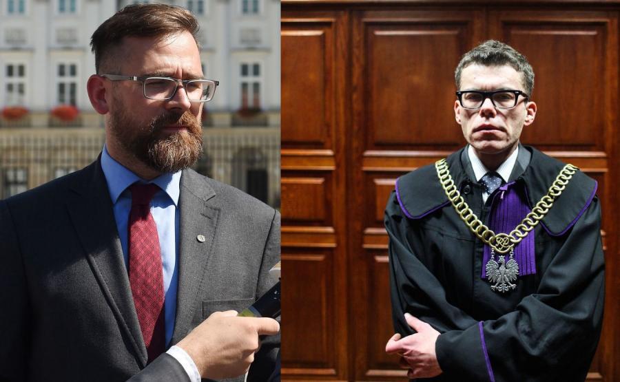 Bartłomiej Przymusiński i Igor Tuleya