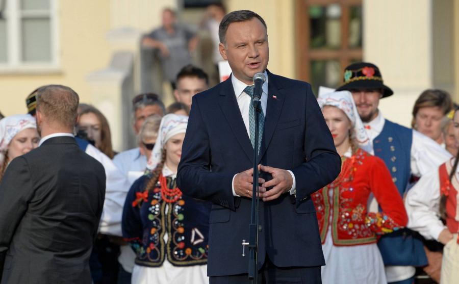 Andrzej Duda w Leżajsku
