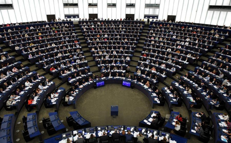 Obrady europarlamentu