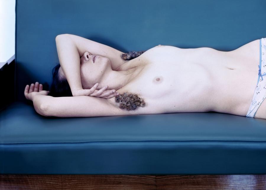 "Aneta Grzeszykowska, ""Hair #2"", 2009 r."