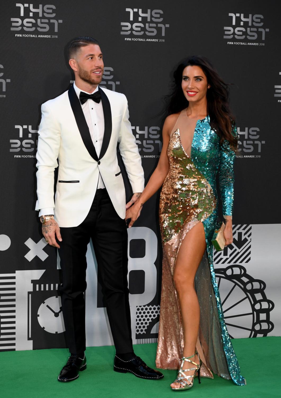 Sergio Ramos z żoną