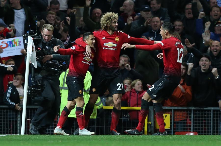 Radość piłkarzy Man Utd