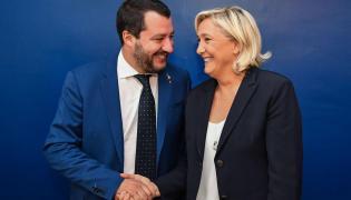 Matteo Salvini i Marine Le Pen