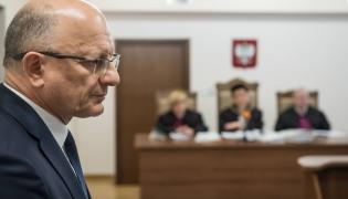 Krzysztof Żuk w sądzie