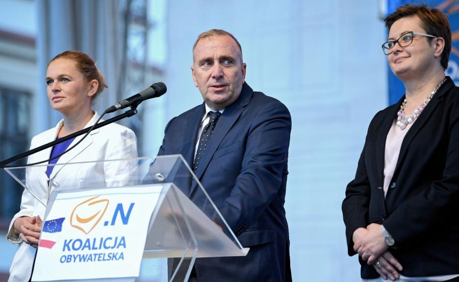 Grzegorz Schetyna, Katarzyna Lubnauer, Barbara Nowacka