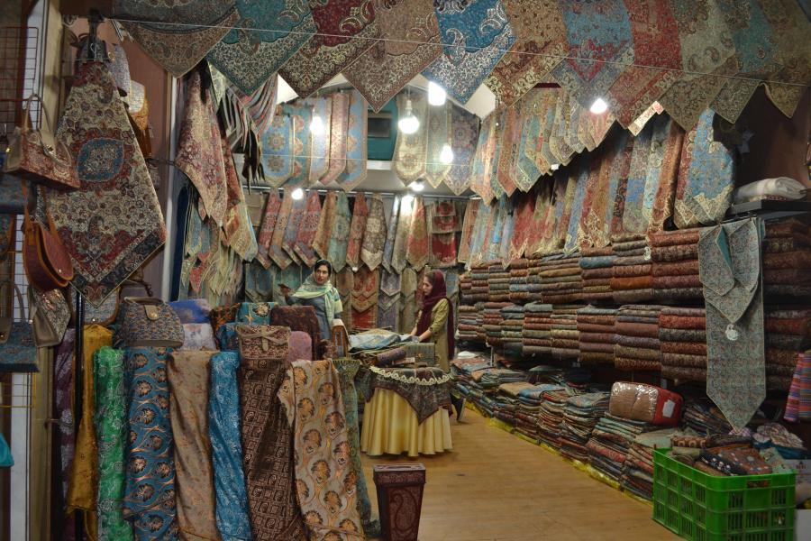 bazar w Iranie / fot. Aleksandra Chrobak