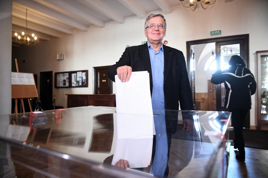Wybory samorządowe 2018. Bronisław Komorowski