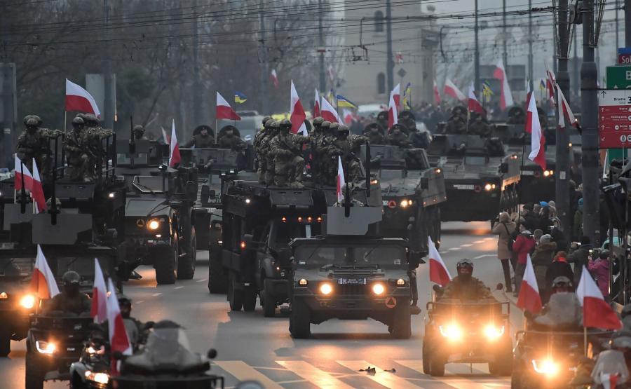 Wojsko na marszu