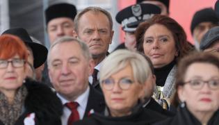 Donald Tusk na obchodach 100-lecia odzyskania Niepodległości