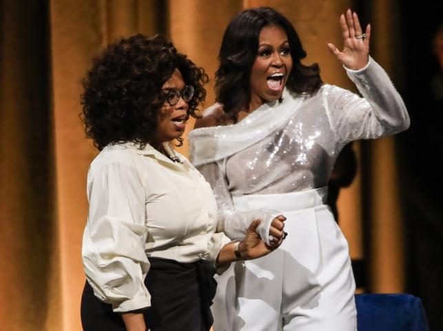 Oprah Winfrey i Michelle Obama