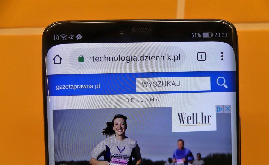 Huawei Mate 20 Pro - ukryty notch