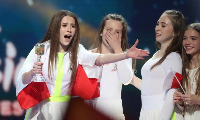 Roksana Węgiel komentuje swój triumf w Eurowizji Junior 2018: \