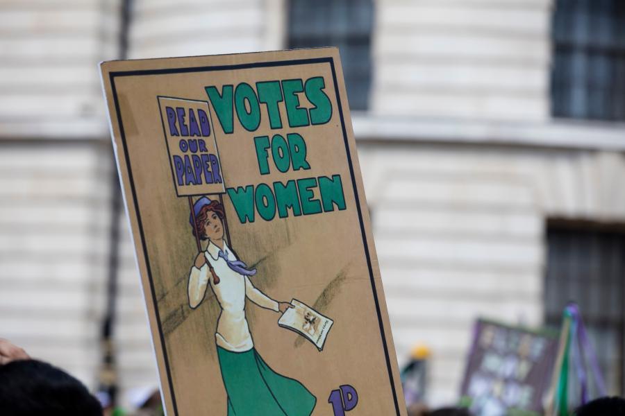 demonstracja feministek