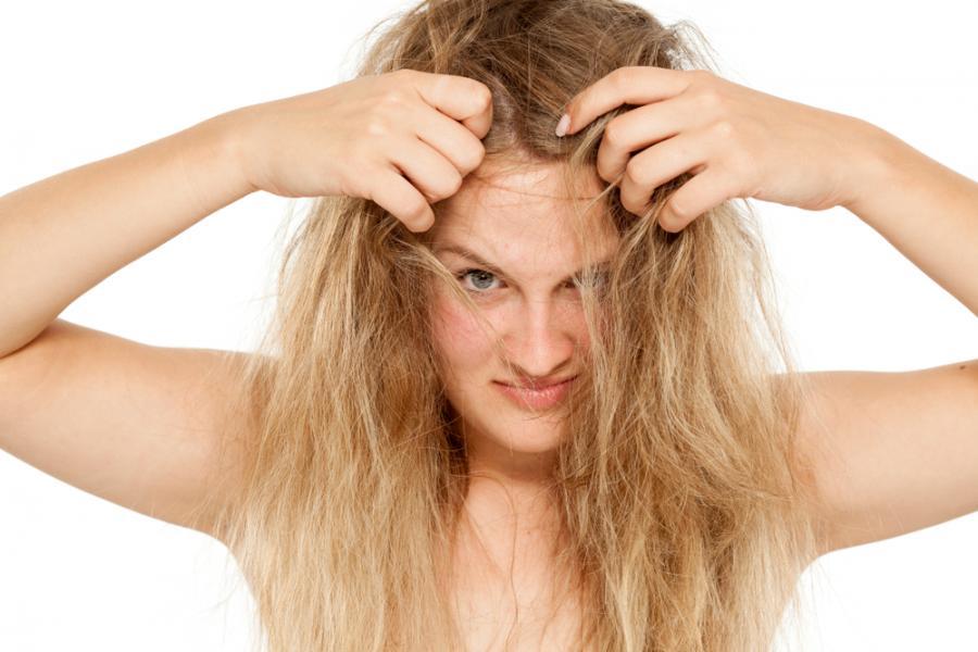 Napuszone włosy