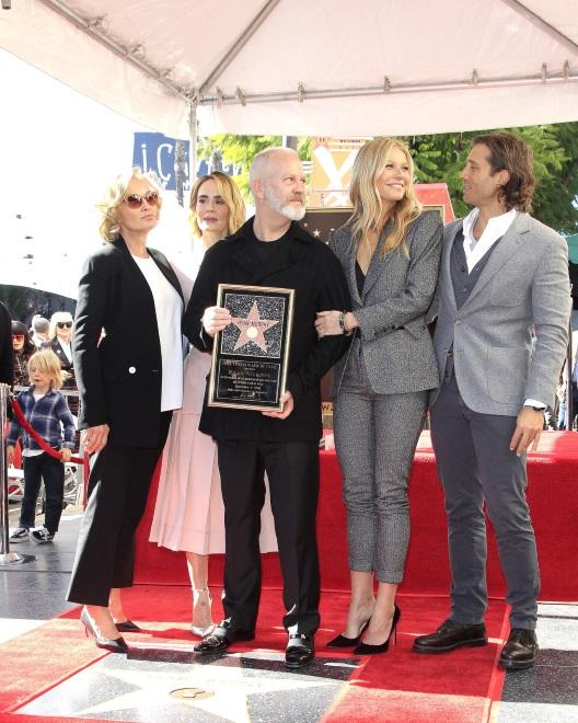 Jessica Lange, Sarah Paulson, Ryan Murphy i Gwyneth Paltrow oraz Brad Falchuk