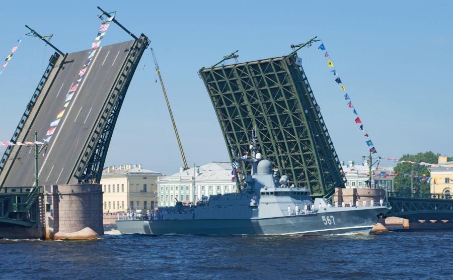 Rosyjski okręt Uragan