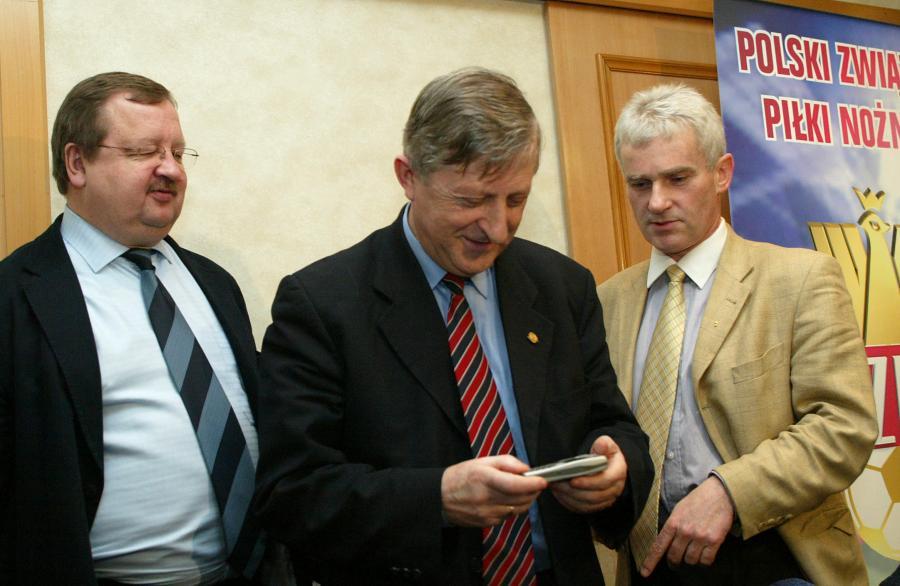 Zdzisław Kręcina, Eugeniusz Kolator i Michał Listkiewicz