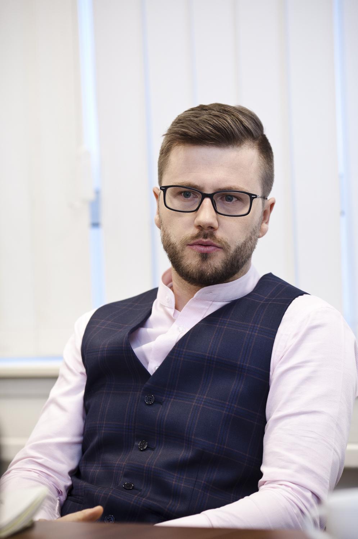 Przemysław Woźnica, dyrektor Specjalnego Ośrodka Wychowawczego Caritas d. Warszawsko-Praskiej