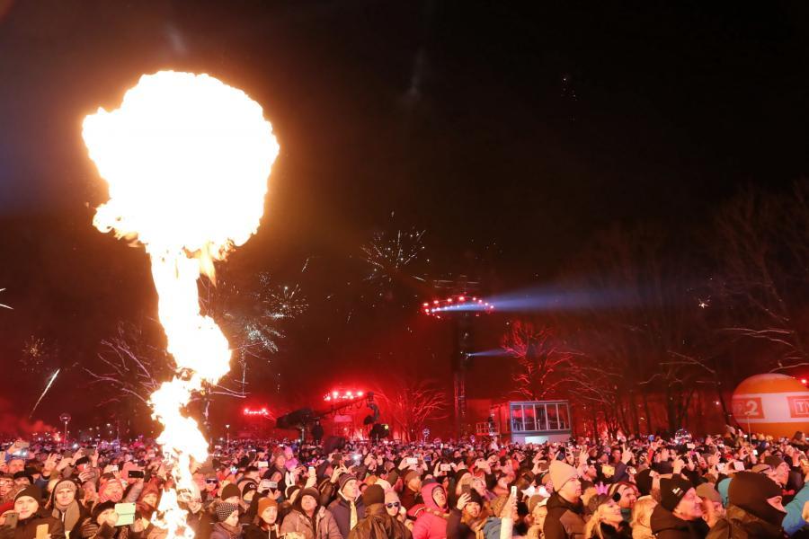 Powitanie Nowego Roku - Sylwester w Zakopanem