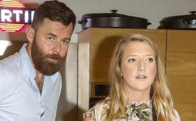 Lara Gessler z mężem Pawłem Pawłowskim