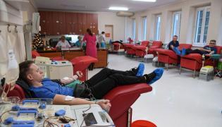 Dawcy w Regionalnym Centrum Krwiodawstwa