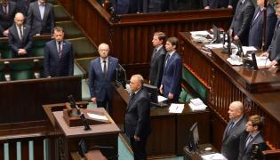 Sejm minuta ciszy