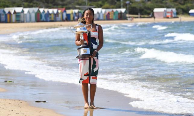 Zjawiskowa sesja nowej liderki rankingu WTA na plaży w Melbourne. Naomi Osaka wygrała Australian Open