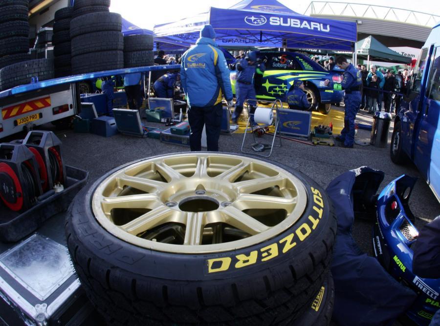 Pirelli zaprezentowało opony na rajdy WRC