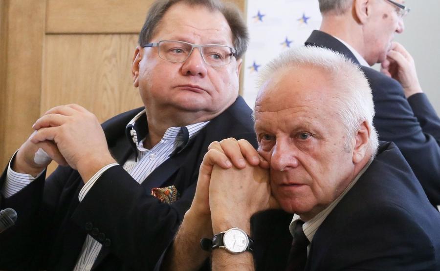 Ryszard Kalisz i Stefan Niesiołowski