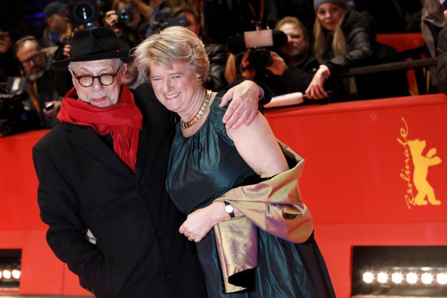 Dieter Kosslick i Monika Gruetters podczas 69. Festiwalu Filmowego.