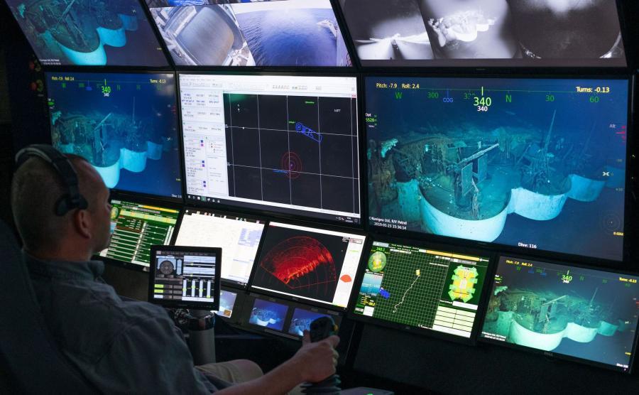 Poszukiwania wraku USS Hornet
