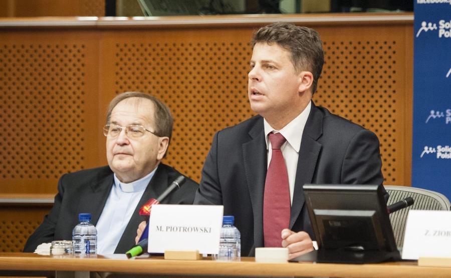 O. Tadeusz Rydzyk i Mirosław Piotrowski