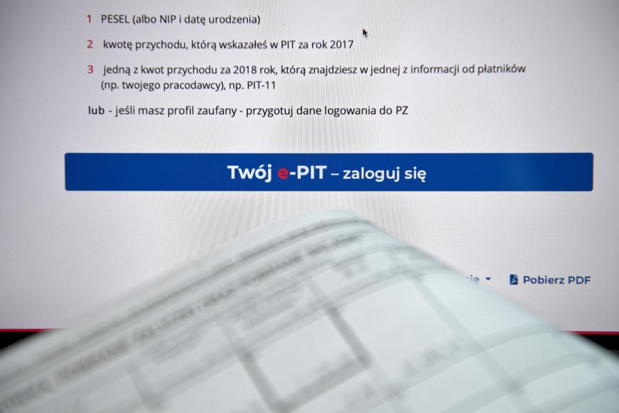 Od piątku na portalu podatkowym podatki.gov.pl można sprawdzić swoje roczne rozliczenie podatkowe, które po raz pierwszy przygotował za podatnika urząd skarbowy