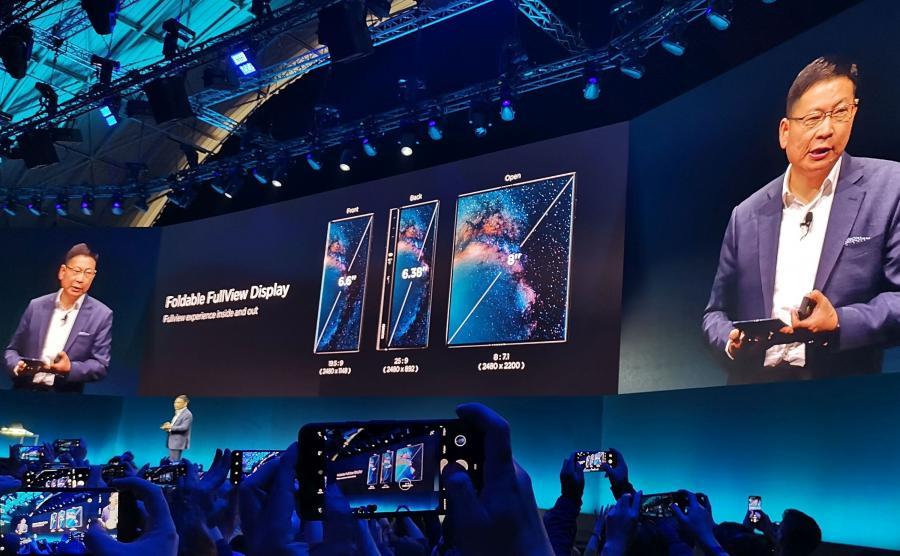 Premiera Huaweia Mate X