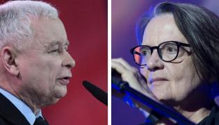 Jarosław Kaczyński / Agnieszka Holland